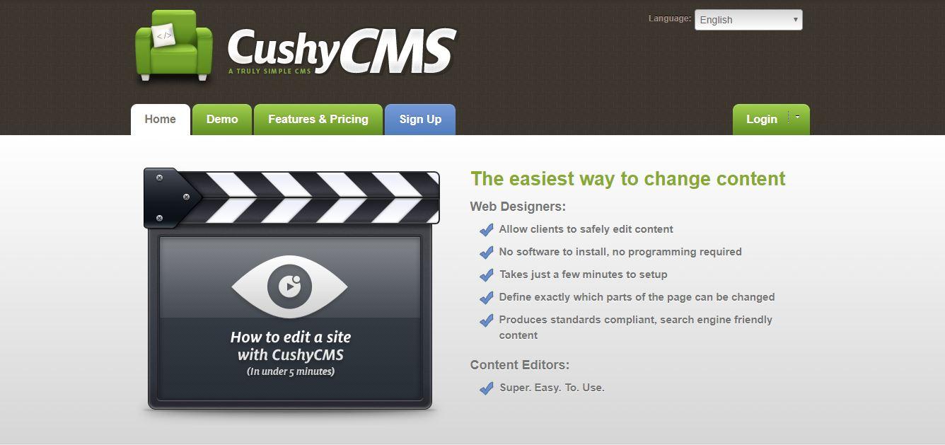 CushyCMS free