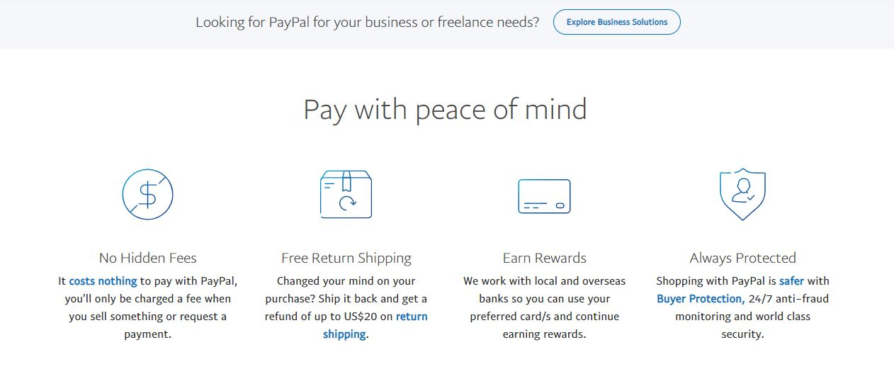Cổng thanh toán trực tuyến Paypal