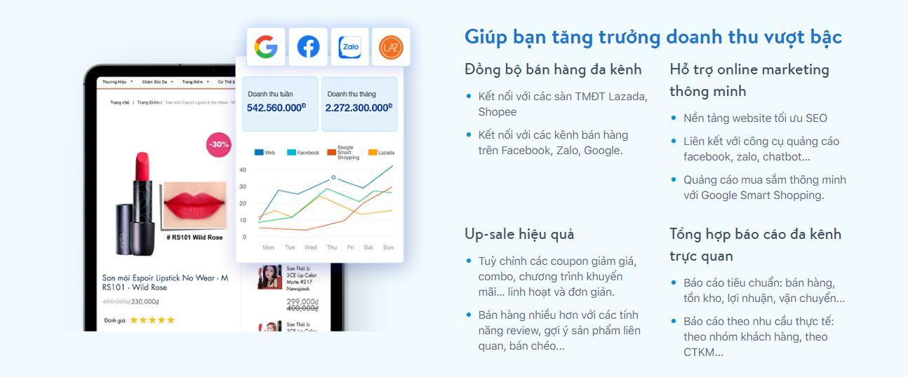 Kinh nghiệm chọn giao diện website bán hàng