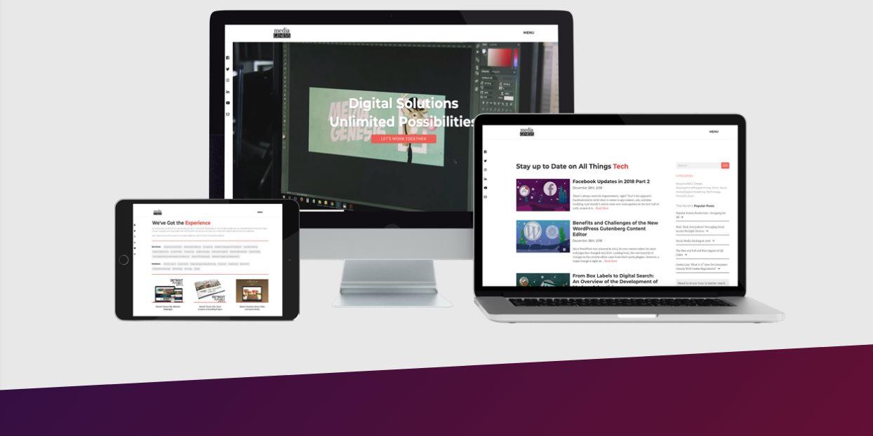 Giao diện website bán hàng responsive