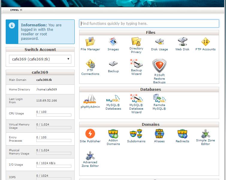 Những thông số cơ bản về hosting khi mua host