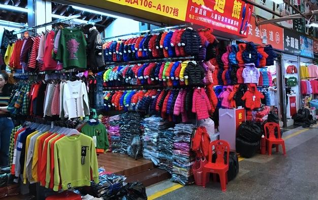 Trực tiếp sang Trung Quốc lấy quần áo quảng châu về bán