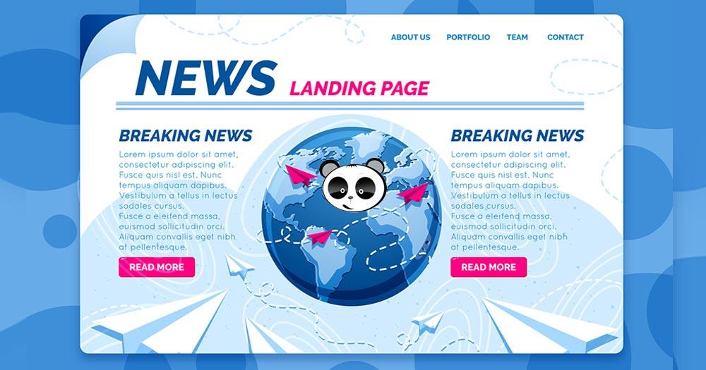 Thiết kế website tin tức chuẩn SEO tại Mona Media