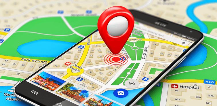 Phần mềm định vị GPS
