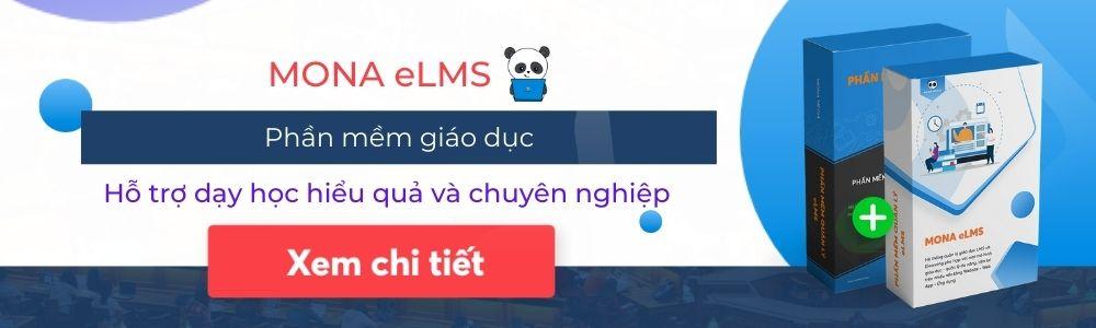 Phần mềm giáo dục Mona eLMS