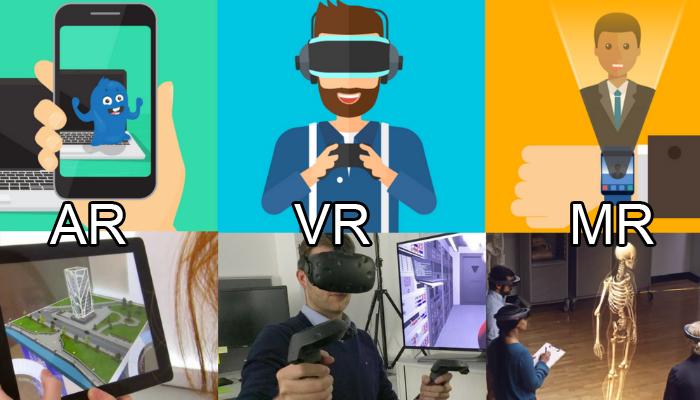 Phân biệt công nghệ thực tế ảo giữa VR, AR và MR khác nhau những gì?
